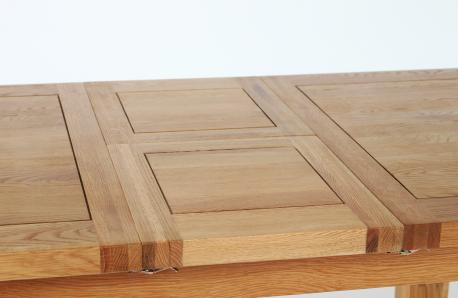 Solid Oak Table Design Change