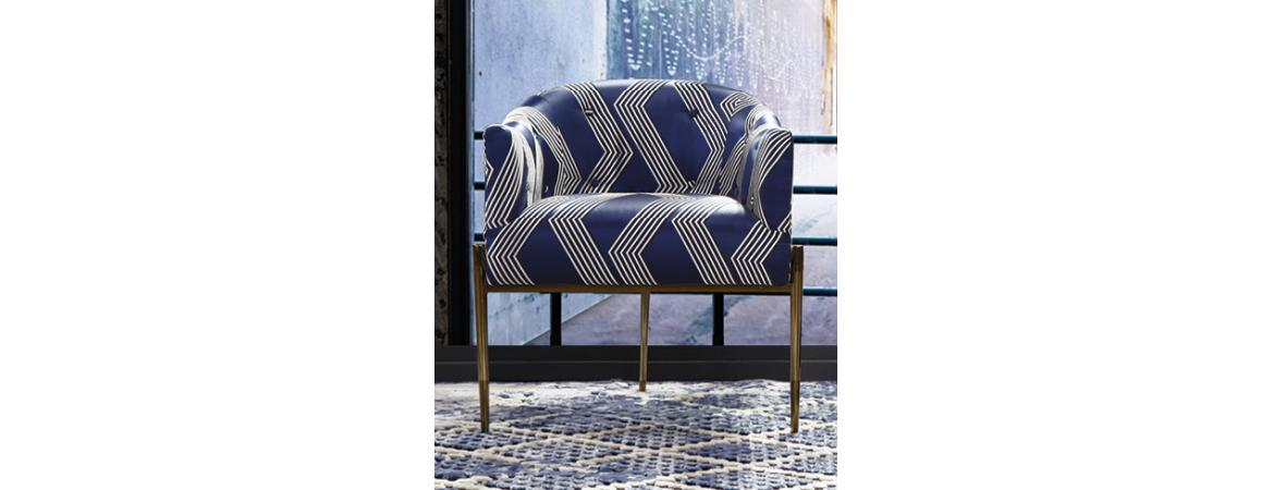 Keaton Circle Stitch Chair