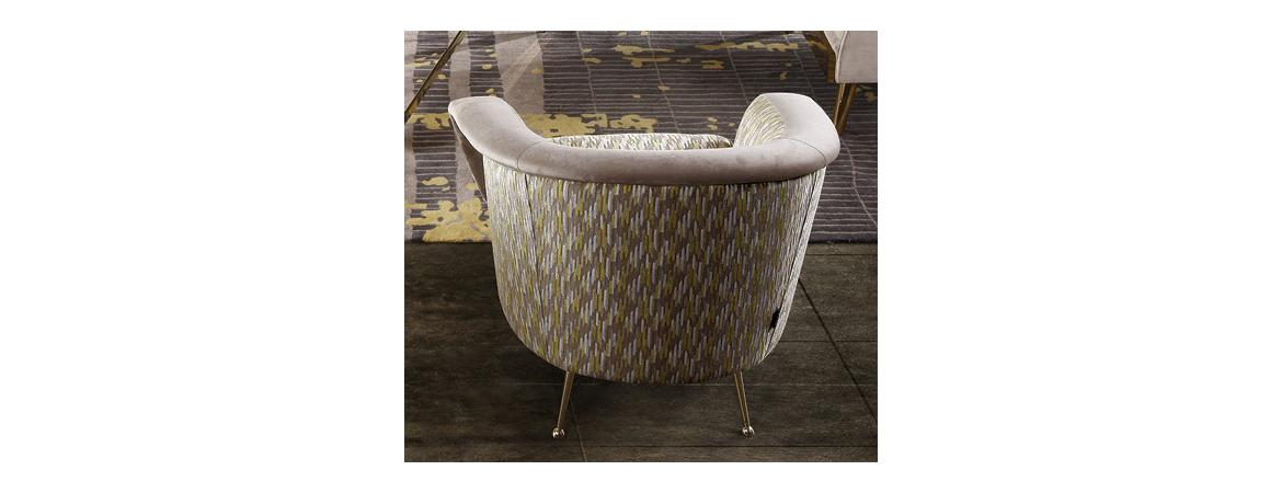 Bardot Cushioned Lux Chair