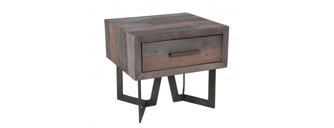 1 Drawer Lamp Table
