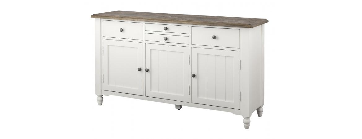 Berkley 4 Drawer 3 Door Buffet