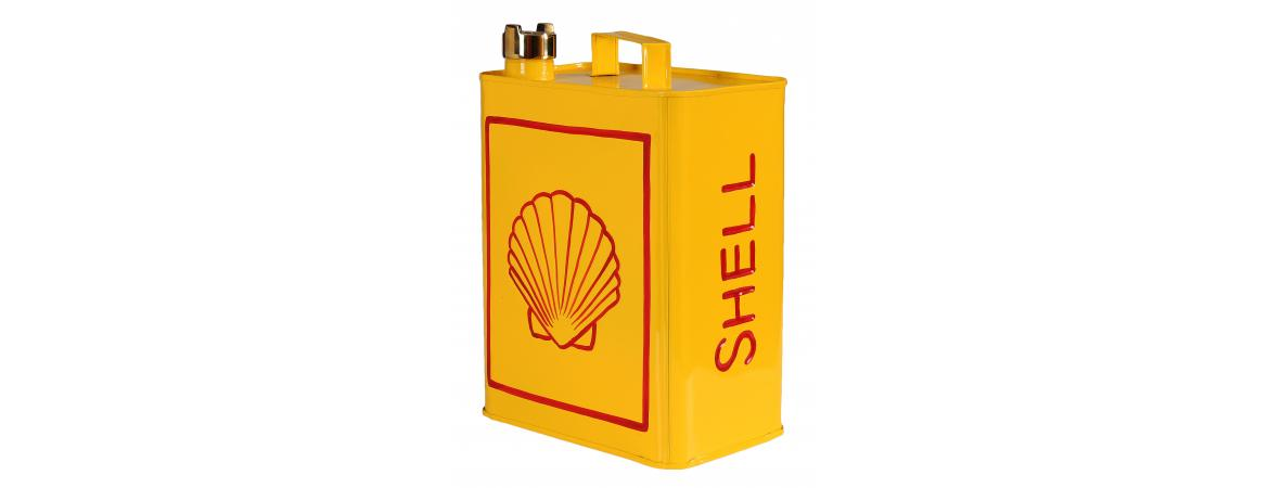 Shell Logo Can