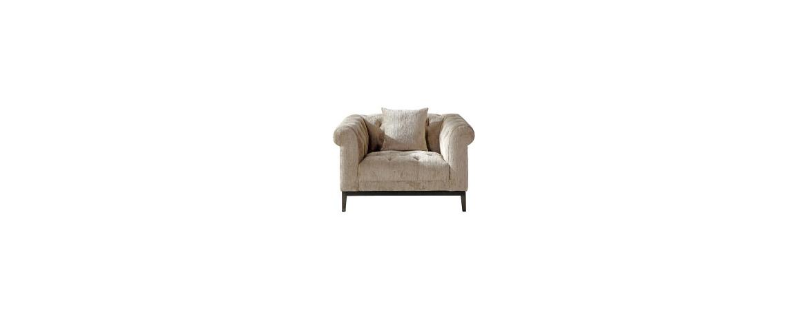 Harlow Tufted 1-Seated Sofa