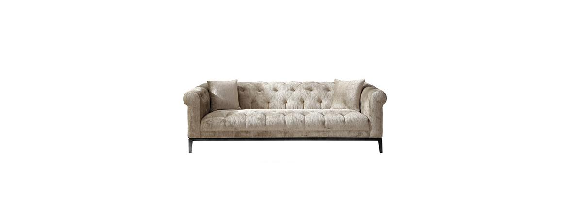 Harlow Tufted 3-Seated Sofa
