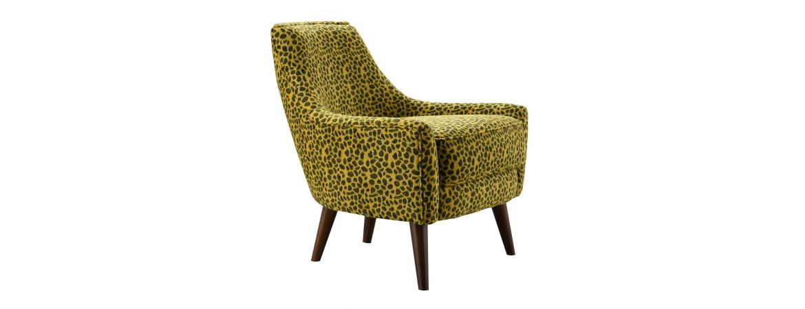 Animal Print Armchair