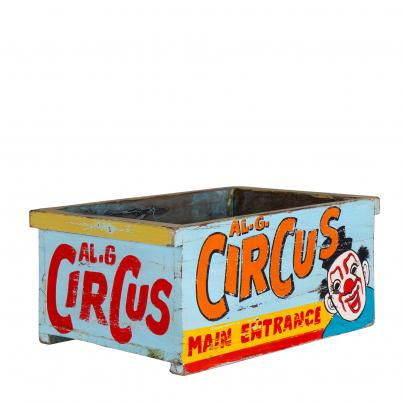 Hand Painted Circus Box