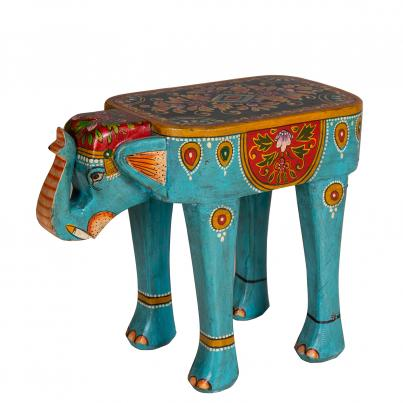 Wooden Hand Carved Stool