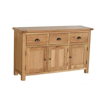 Buffet with 3 Doors & 3 Drawers