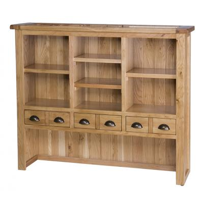 Hutch with 6 Drawers & 4 Shelves