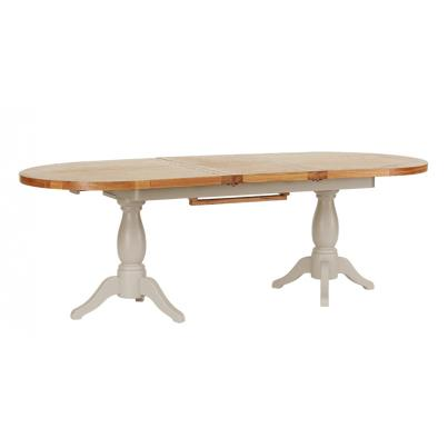 Twin Pedestal Extension Dining Table 1.9 - 2.4