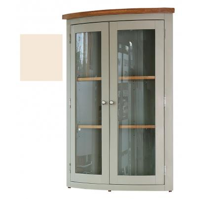 Glazed Corner Hutch with 2 Doors