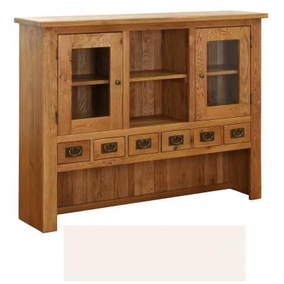 Linen 6 Drawer 2 Door Hutch