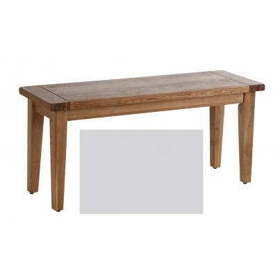 Bench with Oak Seat