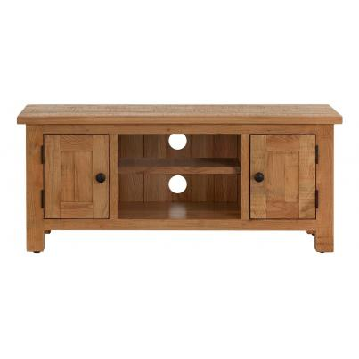 2 Door TV Unit with a Shelf