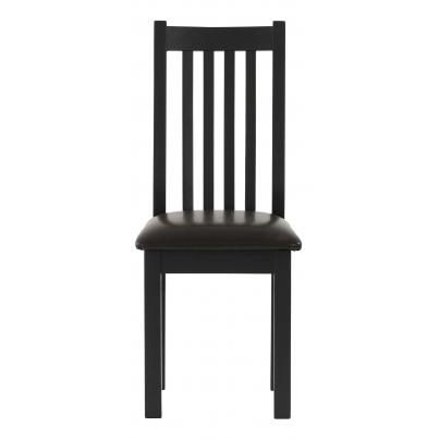 Dining Chair with Bi-cast leather seat