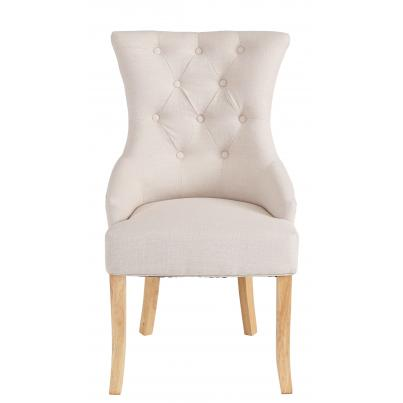 Pack of 2 - Beige Dining Chair