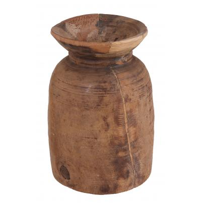 Pack of 2 - Reclaimed Wooden Water Pot