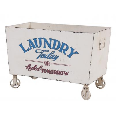 Wooden Retro Style Laundry Box