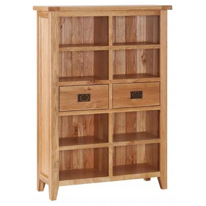 2 Drawer Wide Bookcase