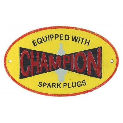 Champion Wall Plaque