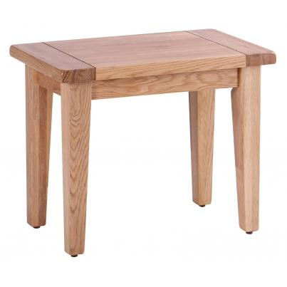 Bench with Oak Seat - Small Fits on the End of Tables