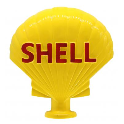 Big 3D Shell Logo Aluminium