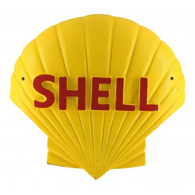 Big 3D Shell Logo Iron
