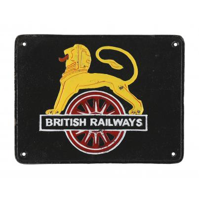 British Railways Wall Plaque