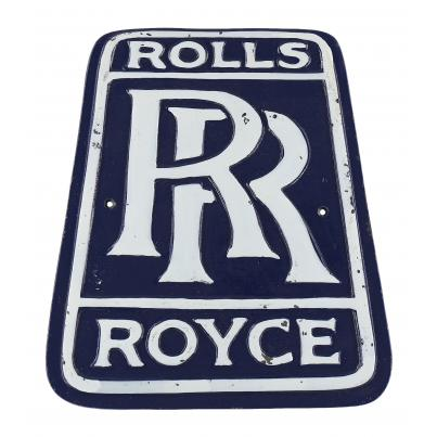 Rolls Royce wall plaque