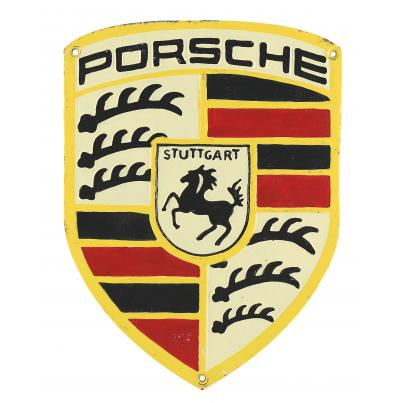 Porsche Wall Plaque