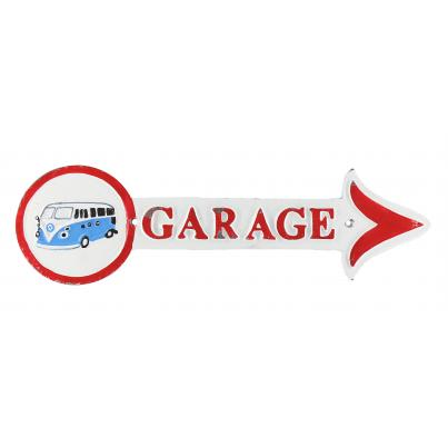 Volkswagen Garage Plaque Arrow
