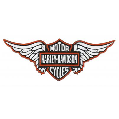 Harley Davidson Wall Plaque Large