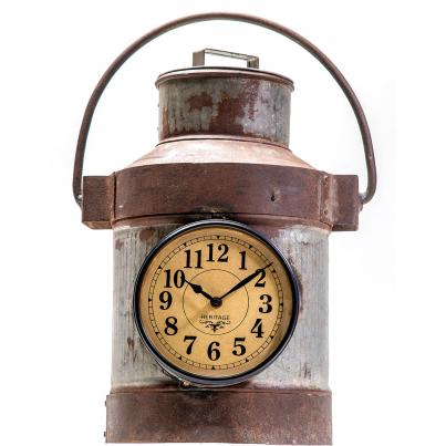 Upcycled Milk Can Clock