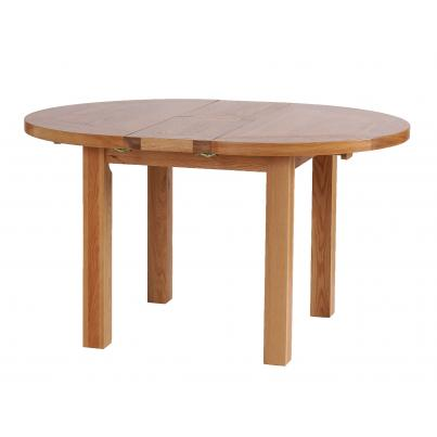 French Grey Round Extension Dining Table 1.1 - 1.4