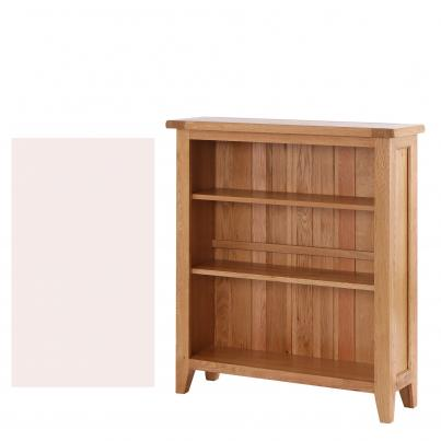 Linen Bookcase with 2 Adjustable Shelves