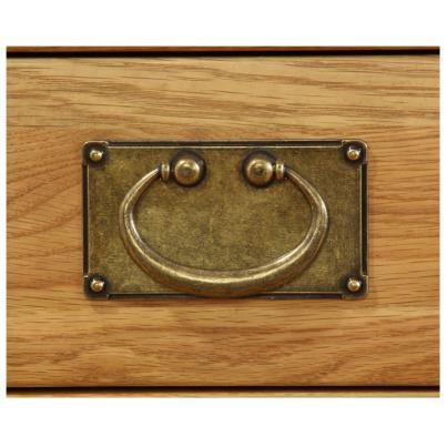 Rectangular Plate Brass Handle