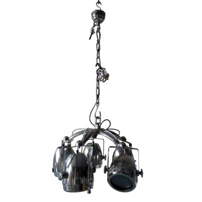 Pendant Light with Five Lamp Cluster