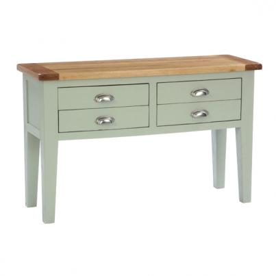 4 Drawer Hall Table