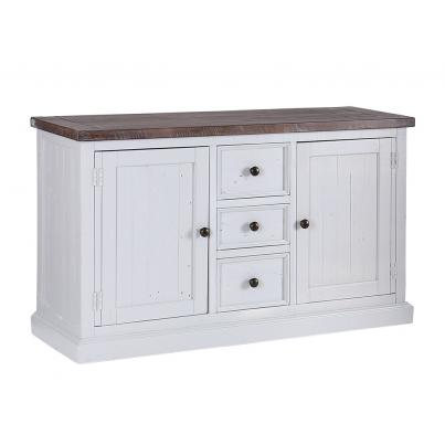 Wide Sideboard with 2 Doors & 3 Drawers