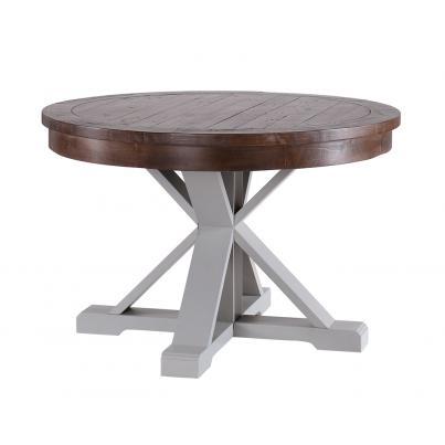 Circular Dining Table with Pedestal Base
