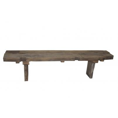Reclaimed Teak Rustic Dining Bench