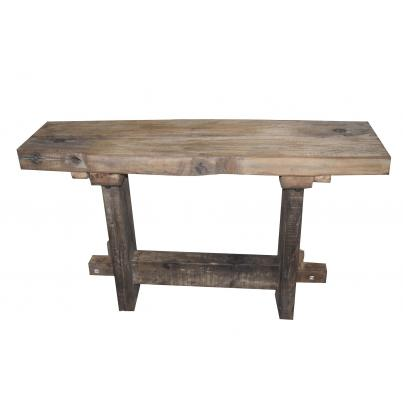Reclaimed Teak Console Table 180cm