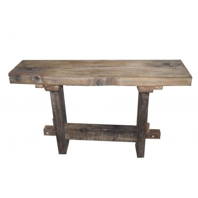 Reclaimed Teak Console Table 120cm