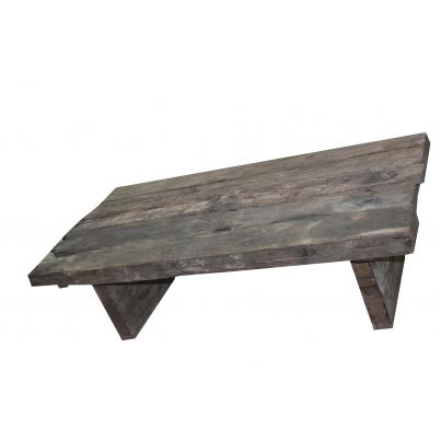 Reclaimed Teak Rustic Plank Coffee Table 150cm
