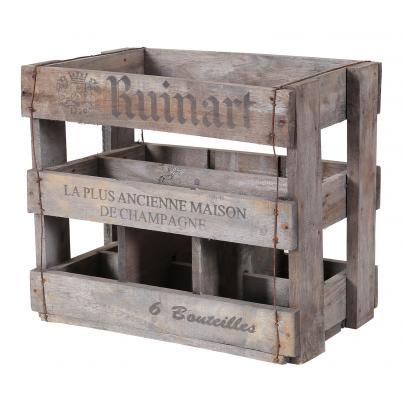 Wine Crates for 6 Bottles - Ruinart