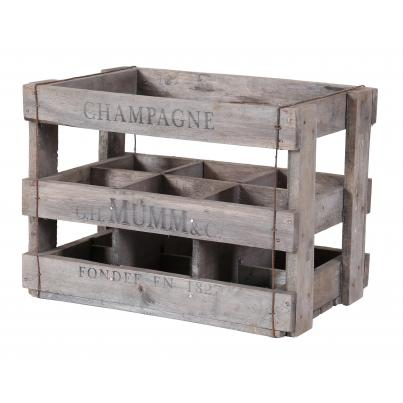 Wine Crates for 6 Tall Bottles - GH Monastery