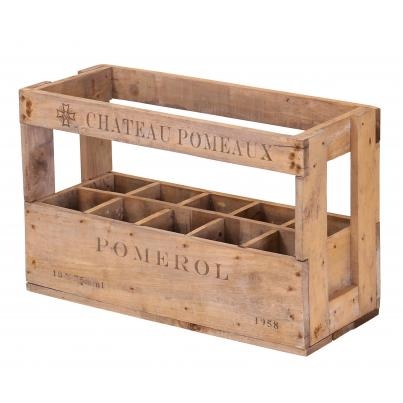 Wine Crate for 10 Bottles - Chateau Pomeaux