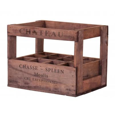 Wine Crates for 12 Bottles - Chasse