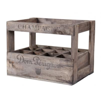 Wine Crate for 12 Bottles - Dom Perginon