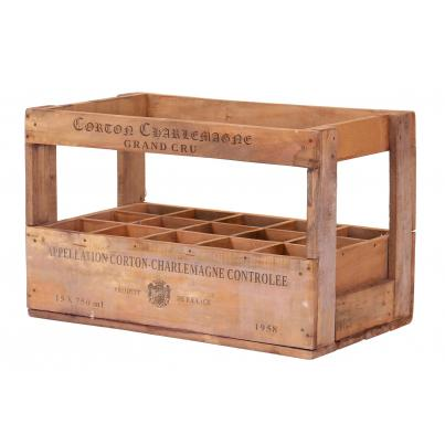 15 Bottle Wine Crate - Corton Charlemagne